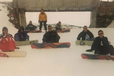 The First Time I Went…   Snowboarding